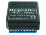 Motogadget msp Breakout Box J1850 Harley Davidson