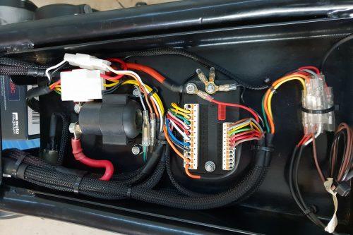 CB550 rewire